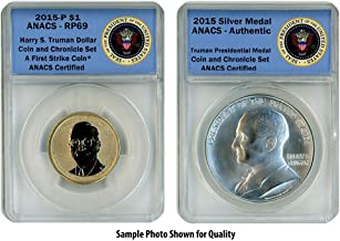 2015 P Harry S. Truman Two Coin Set RP69