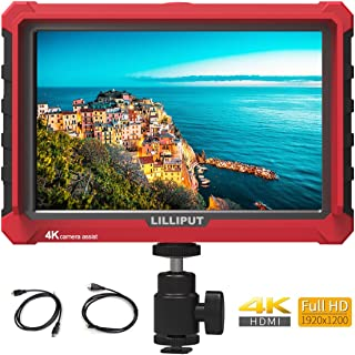 LILLIPUT A7S 7 inch IPS On-Camera Monitor with 4K HDMI Input Output, 1920x1200 Field Monitor for DSLR and Mirrorless Camer...