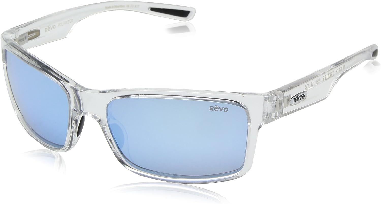Revo Crawler: Polarized Lens Filters Uv, Performance Rectangle Frame Rectangular Sunglasses