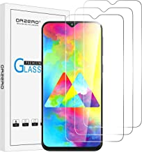 (3 Pack) Orzero Compatible For Samsung Galaxy M10, M20, A10, A10S Tempered Glass Screen Protector, 9 Hardness Anti-Scratch (Not Full Coverage Due to Curved Edge) (2.5D Arc Edges) (Lifetime Replacement)