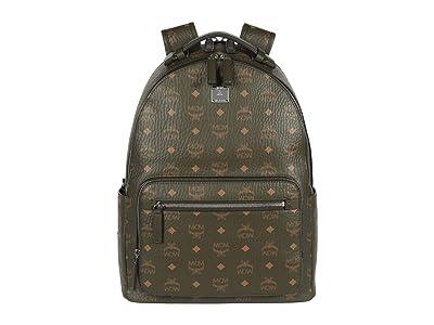 MCM Stark Backpack 40 (Sea Turtle) Backpack Bags