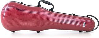 PURE GEWA Estuche de violín con forma Policarbonato 1.8 rojo para tamaño 4/4
