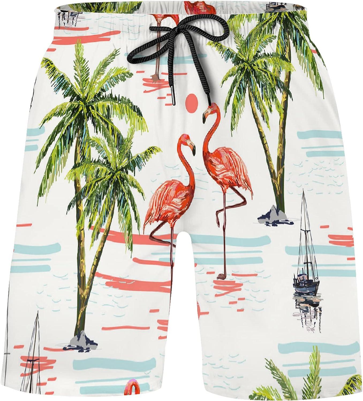 Beautiful Coconut Palm Trees Ranking 67% OFF of fixed price TOP18 Sailboat Flamingo Sun Bathi Pink