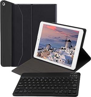 【2021進化版】 iPad 10.2/10.5 キーボード ケース 第8世代/第7世代対応iPad7/iPad8 2019/2020モデル アイパッド 10.2 インチ [ペンシルホルダー付き] [2020/2019モデル] Bluetoot...