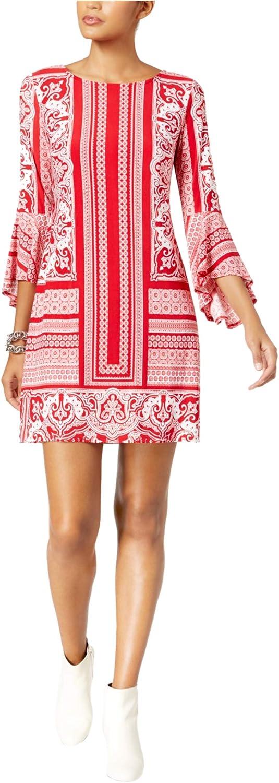 INC Womens Printed Shift Dress