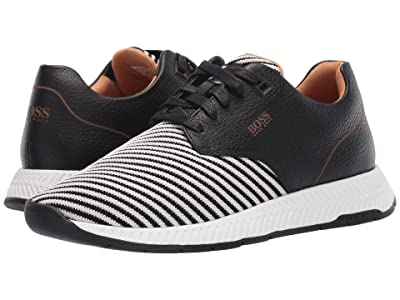 BOSS Hugo Boss Titanium Run Scafe Sneakers by BOSS (Black) Men