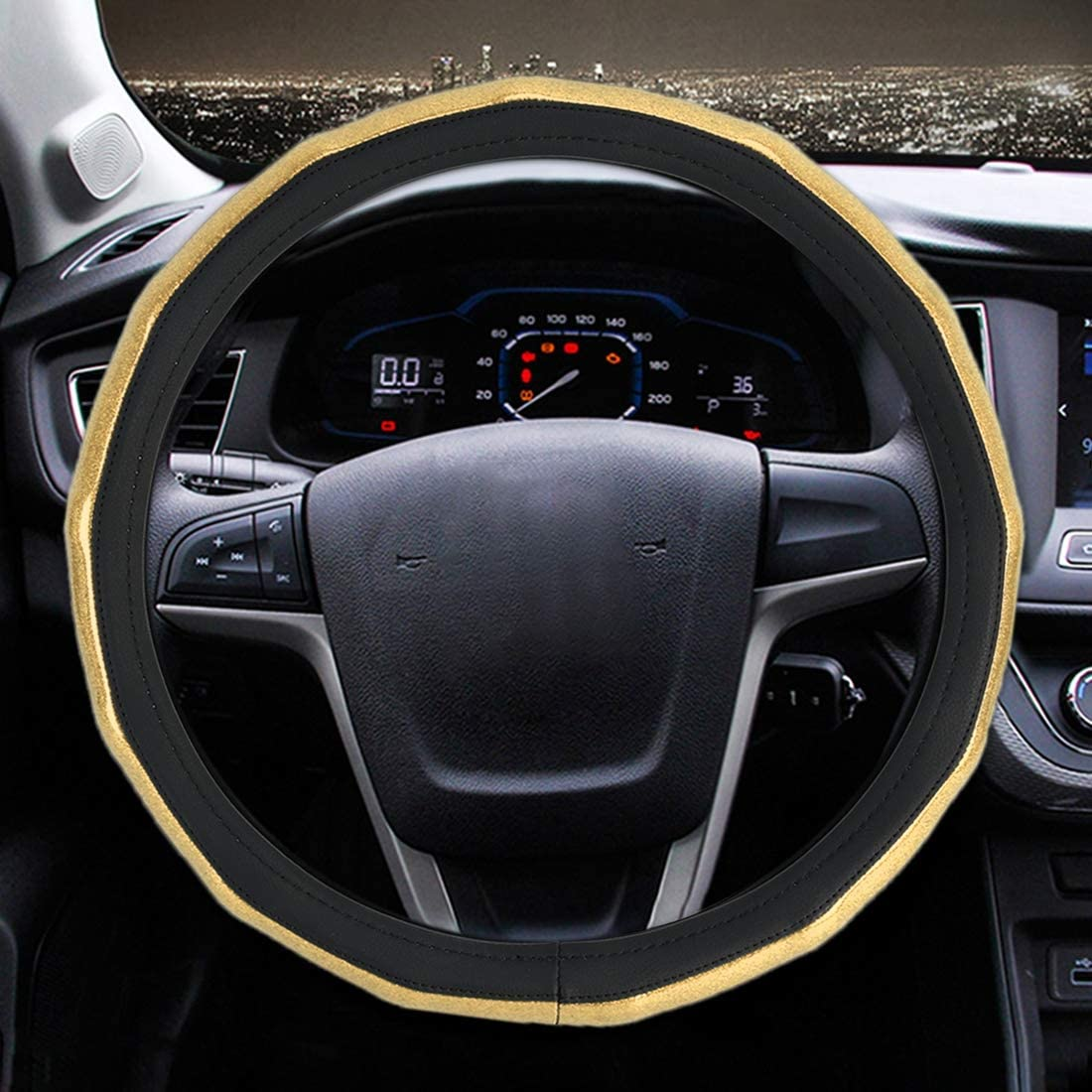 JINPART Car Accessories Universal 25% OFF Knot Plating Bamboo List price Leathe