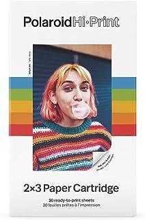 Polaroid - 6089 - Polaroid Hi·Print Paper Cartridge - 20 vellen 2 cartridges, 2 x 3 Inch