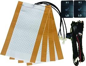 Besond car seat Heater Carbon Fiber Heater Element Two Seats fit Toyota Cars Trucks