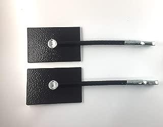 Refrigerator Door Lock Kit - NO PADLOCK (Black)