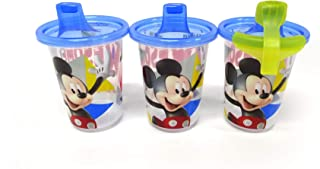 The First Years Mickey T&T 10 Ounce Sippy Cup, Pack of 3 (Multicolor)