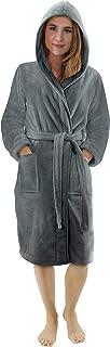 NY Threads Vestaglia di lusso da donna   Accappatoio Super Soft Fleece Donna Accappatoio   Accogliente felpa con cappuccio...