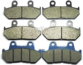 TARAZON Rear Brake Disc Rotor for Honda GL 1500 Goldwing A SE L Interstate 1990-2000 Valkyrie 2000-2003 VTX1800 C F N R S T 2002-2011
