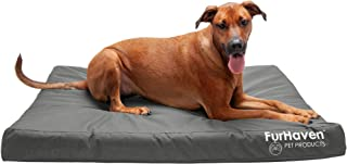 Furhaven – Traditional Orthopedic Rectangular Mattress Dog Bed – Available in..