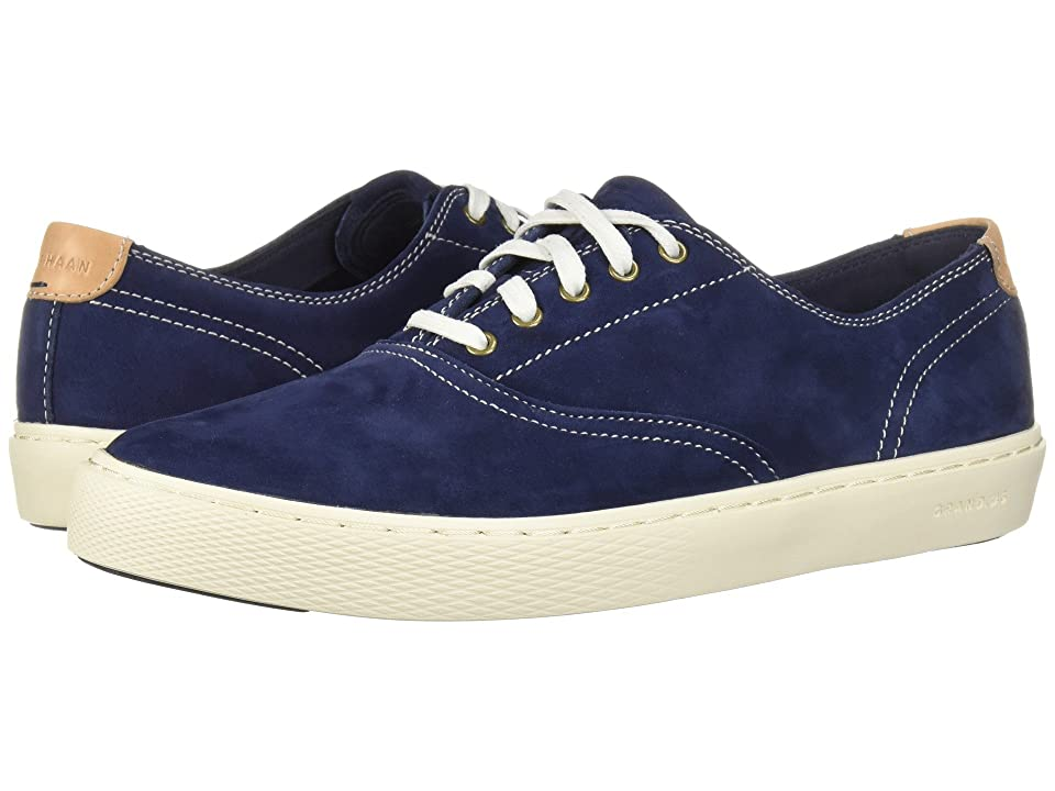 Cole Haan Grandpro Deck Oxford (Marine Blue Nubuck) Men