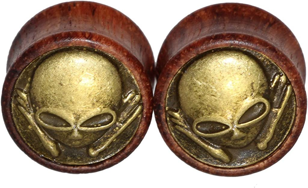 Oasis Plus Kansas City Mall Alien Organic Wood Tunnels Flesh Double Flared Brass OFFicial site