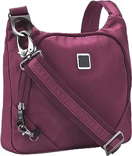 Anti-theft Crossbody Purse + Sling Bag for Women, Men, Travel or Work