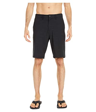 Billabong Crossfire Slub 21 Submersible Shorts (Black) Men