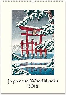 cavallini japanese woodblock calendar 2019