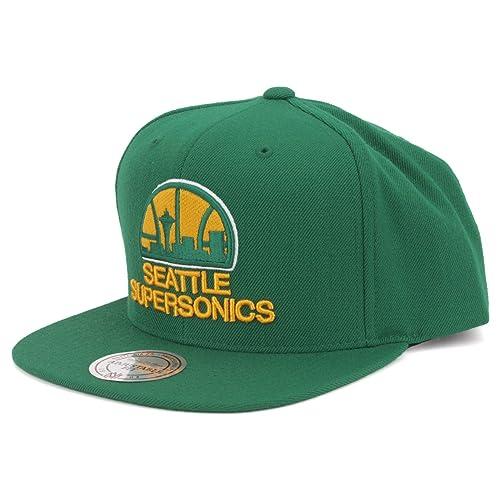 f7616e78ee4e Mitchell   Ness Seattle Supersonics Snapback Hat
