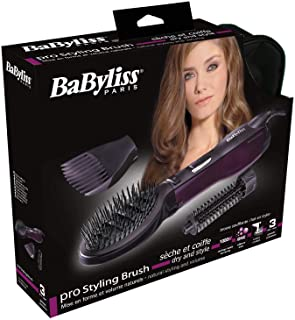 Babyliss BABAS115SDE Airstylers The Puddle Air Brush, Purple, MEDIUM, AS115 SDE