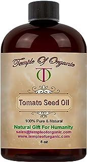 Tomato Seed Oil - 8 oz - 100% Pure, Unrefined, Cold Pressed, Non-GMO, Fair Trade, Uncut, Carrier Oil for Skin, Hair, Nails...