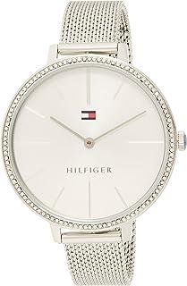 Tommy Hilfiger Reloj Analógico para Mujer de Cuarzo con Correa en Acero Inoxidable 1782113