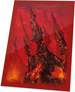 Ultimate Guard Magic The Gathering Sleeves Lands Edition Card Game (80 Pack), Mountain, One Size