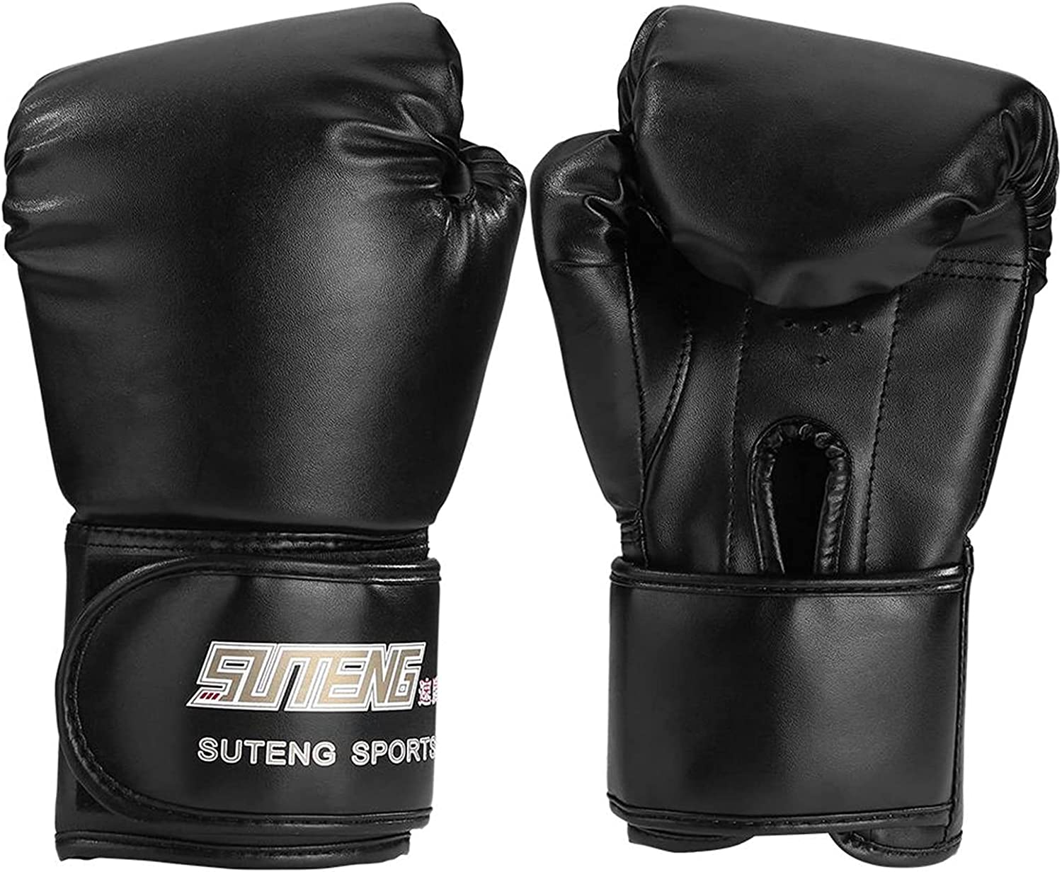 JINSHANDIANLIAO 1Pair Max 68% Manufacturer regenerated product OFF Adults Kick Boxing Sanda Gloves F Training