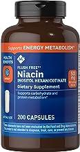Member's Mark - Flush Free (B3) Niacin Inositol Hexanicotinate 500 mg, 200 Capsules