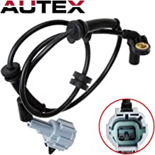 AUTEX 1pc ABS Wheel Speed Sensor Front Left/Right 479107S025 ALS621 5S10760 Compatible with Infiniti QX56 2004-2007 5.6L/Compatible with Nissan Titan & Armada 2005-2007 5.6L