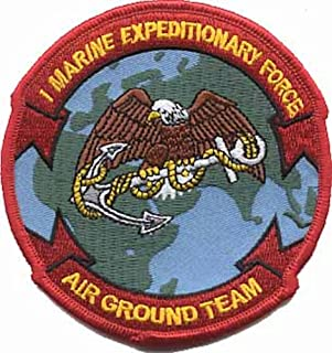 1st Marine Expeditionary Force MEF Patch - FULL COLOR