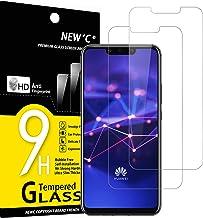 NEW'C 2 Unidades, Protector de Pantalla para Huawei Mate 20 Lite, Honor Play, Antiarañazos, Antihuellas, Sin Burbujas, Dureza 9H, 0.33 mm Ultra Transparente, Vidrio Templado Ultra Resistente