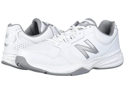 New Balance 411 (White/Silver Mink) Men