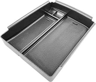 Yeeoy Tray Armrest Box Secondary Storage Center Console Organizer Fits Tesla Model X/Model S