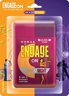 Engage On 2-In-1 Pocket Perfume Woman Day & Night, 28 ml
