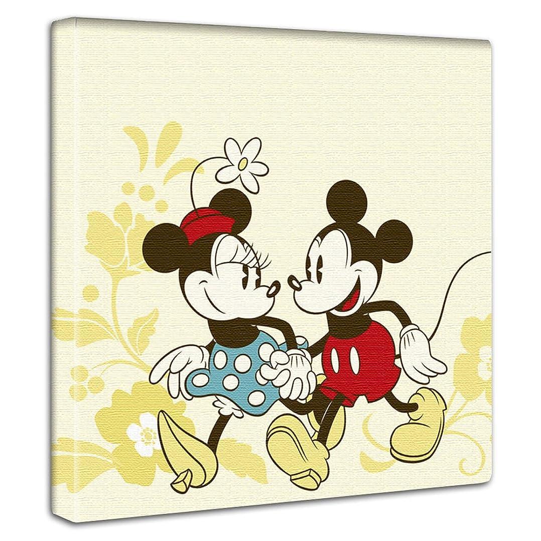 一貫性のないマークされた打ち上げるディズニー ポスター ミッキーマウス ミニーマウス 30cm × 30cm 日本製 dsn-0100