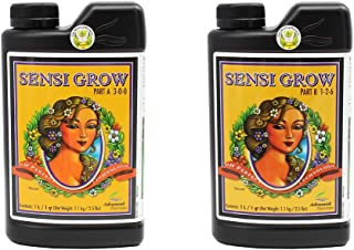 Advanced Nutrients 6201-14AB pH Perfect Sensi Grow Part A+B, 1 Liter, Brown/A