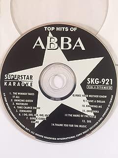 ABBA Greatest Hits Karaoke CD+G Superstar Sound Tracks