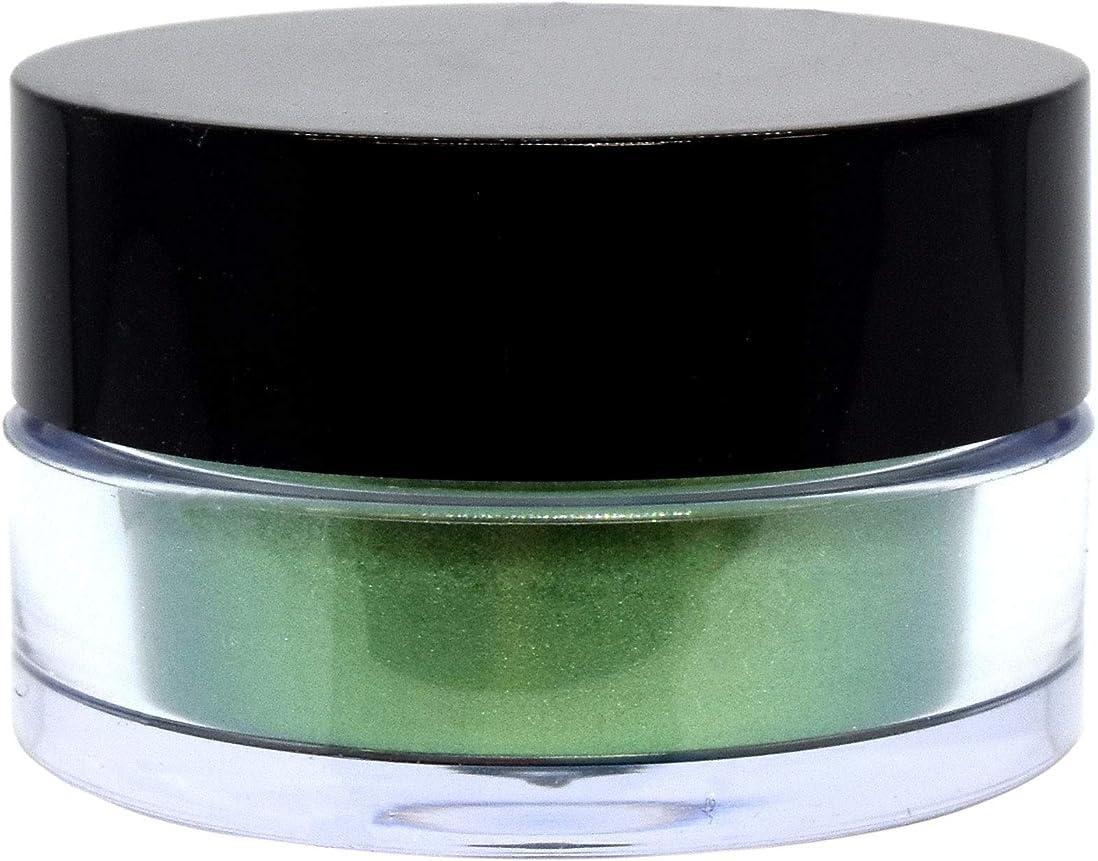 想像する高める支配的三善 プチカラー 高発色 アイシャドウ パール col:11 グリーン系
