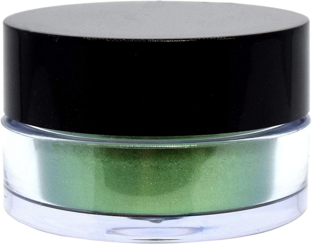 満員安定した論争的三善 プチカラー 高発色 アイシャドウ パール col:11 グリーン系
