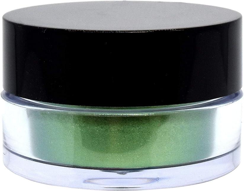 パス鳴らす新着三善 プチカラー 高発色 アイシャドウ パール col:11 グリーン系