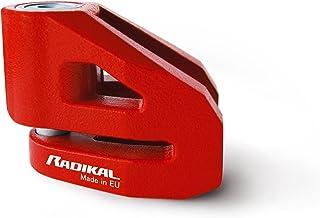 Preisvergleich für Radikal RK214 Anti-Diebstahl-Schloss aus Hochwertigem geschmiedetem Stahl, Durchmesser 14, Rot, Motorrad preisvergleich