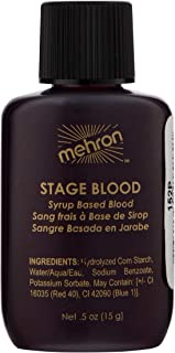 Mehron Makeup Stage Blood (.5 oz) (Bright Arterial)