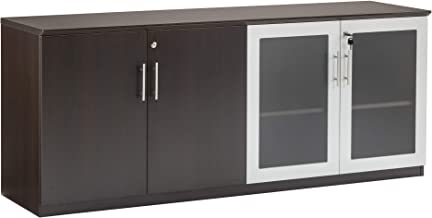 mayline medina series low wall cabinet doors