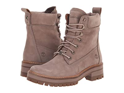 Timberland Courmayeur Valley 6 Boot (Taupe Nubuck) Women