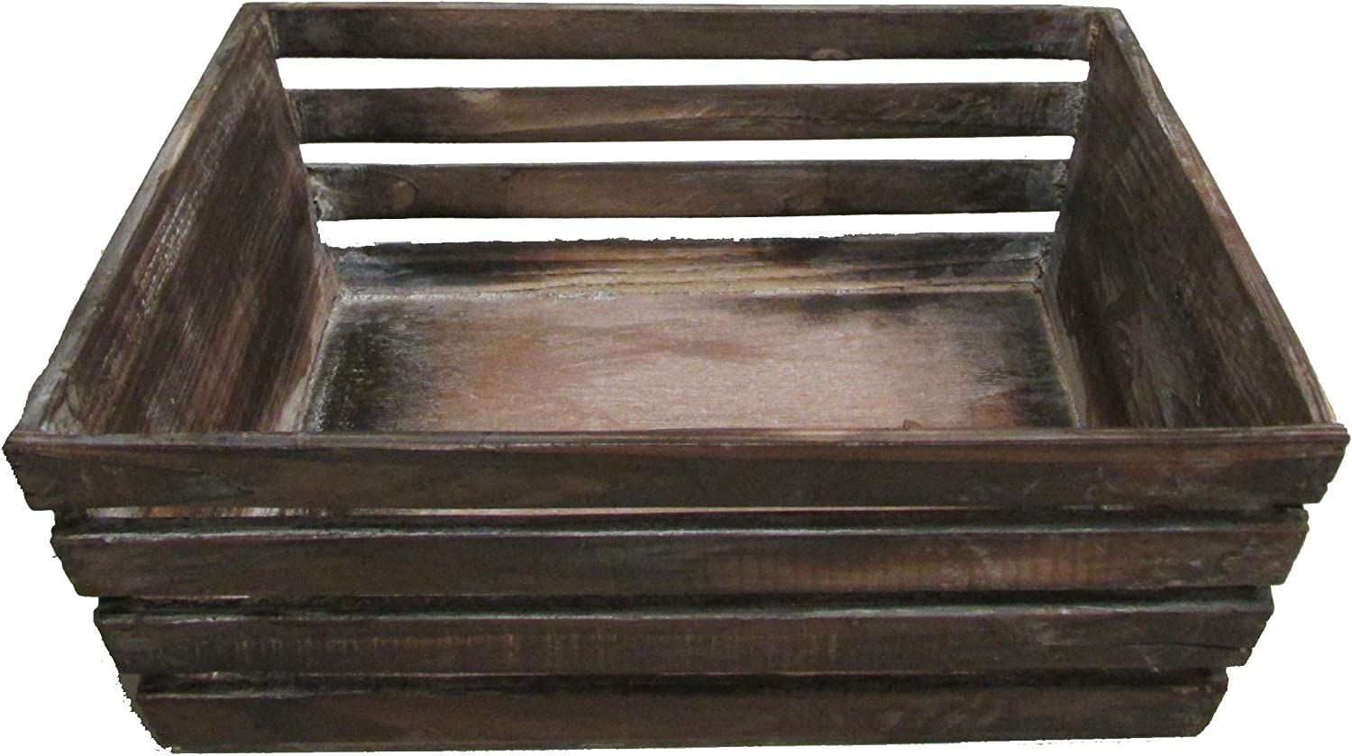 Admired By Nature Brown Max 45% OFF Tray Wood Stained Reservation Washed