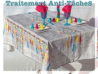 Amazon Fr Infroissables Nappes Linge De Table Cuisine Et Maison