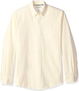 Amazon Essentials – Camisa Oxford lisa de manga larga de