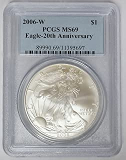 Best 2006 w silver eagle ms69 Reviews